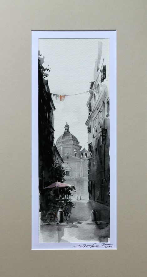 aquarelle rome