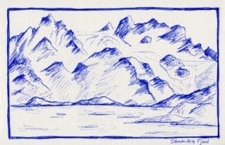 Glacier Île d'Angmassalik