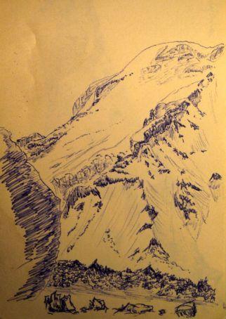 montagne vicente