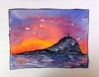 coucher soleil snipe