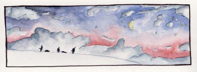 aquarelle-lune-rose