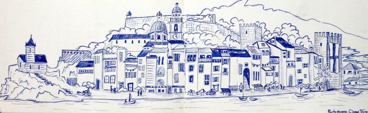 Carnet de voyage les couleurs d 39 emma - Dessin portugal ...