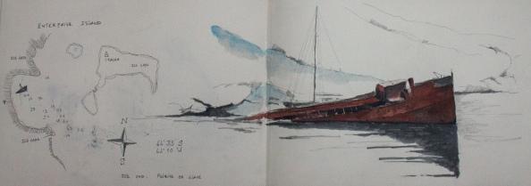 Dessin cahier Didier Antarctique-8