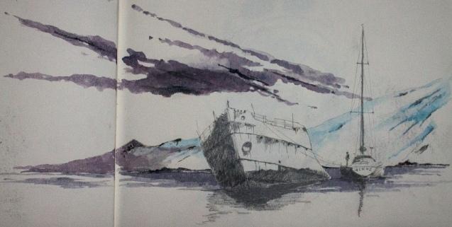 Dessin cahier Didier Antarctique-9