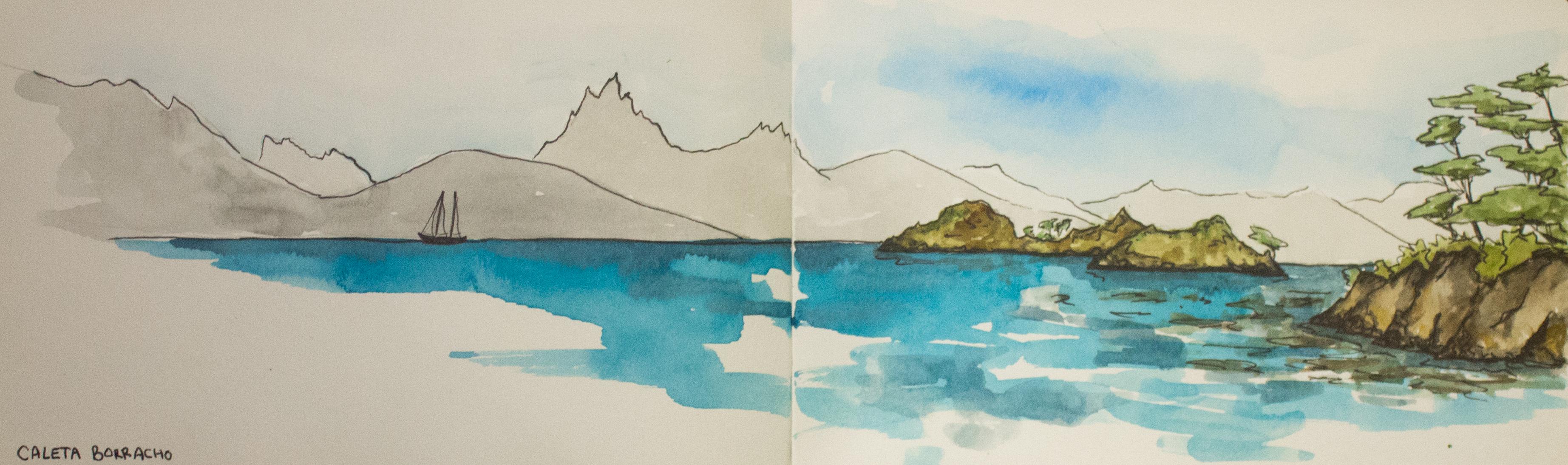 Les couleurs d'Emma - Carnet de voyage Patagonie-6