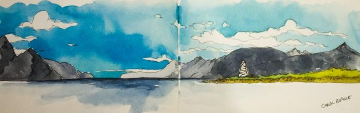 Les couleurs d'Emma - Carnet de voyage Patagonie