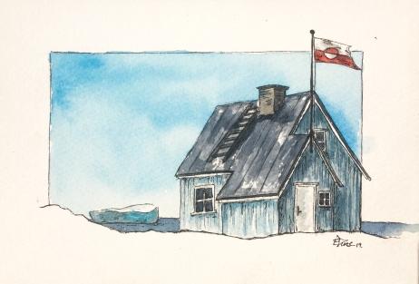Groenland aquarelle 2019-5